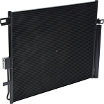 DODGE DURANGO 2015-2018 A/C CONDENSER NEW (WITHOUT TRANSMISSION OIL COOLER)