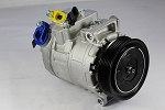 BMW 128I/135I 3.0 2008-2013 A/C COMPRESSOR NEW (WITHOUT TURBO,6 GROOVE CLUTCH,w/N51B30A DIRECT DRIVE)