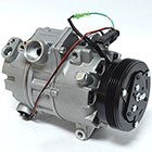 BMW X5 3.0 2007-2010 A/C COMPRESSOR NEW (4 GROOVE CLUTCH,WITH ADAPTIVE DRIVE)