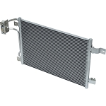 JEEP WRANGLER 3.8 2007-2011 A/C CONDENSER NEW (MANUAL TRANSMISSION)