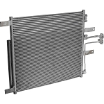 DODGE RAM PICK-UP 3.7/4.7/5.7 2009-2011 A/C CONDENSER NEW (WITH TOC BLOCK CONNECTION)