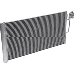 MINI COOPER 1.6 2009-2016 A/C CONDENSER NEW ( WITH 1 BLOCK EXTENDED FITTING)