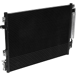CHRYSLER 300 2011-2018 A/C CONDENSER NEW (WITH POWER STEERING OIL COOLER)