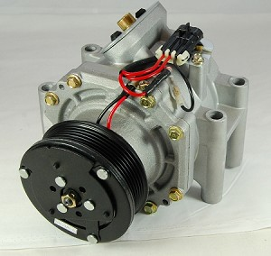 BUICK RAINIER 4.2 2007 A/C COMPRESSOR NEW (EARLY 2007 WITH 3 PIN CONNECTOR)