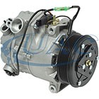 BMW X5 3.0 2007-2010 A/C COMPRESSOR NEW (6 GROOVE CLUTCH,WITHOUT ADAPTIVE DRIVE)